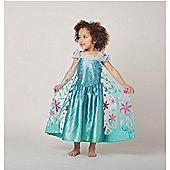 Disney Frozen Fever Elsa Dress Up