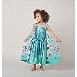 Disney Frozen Fever Elsa Dress Up