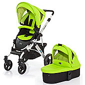ABC Design Mamba 3 in 1 Pushchair & Carrycot (Silver/Lime)