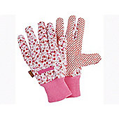Briers Bo653 Ditzy Grip Glove Floral Medium