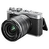 Fuji X-A2 Compact System Camera, 16.3MP, 16-50mm Lens Kit, Silver