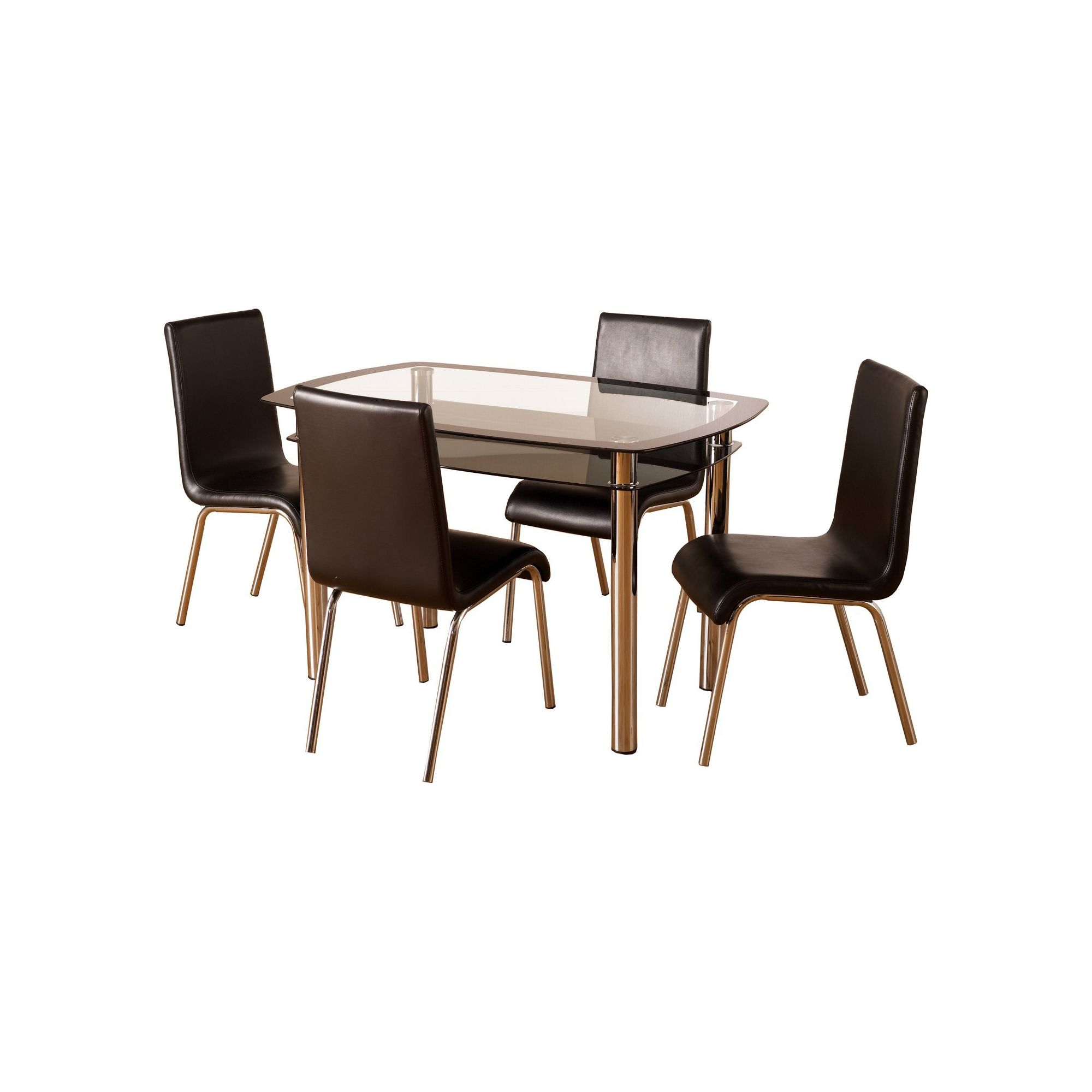 Home Essence Columbus Five Piece Dining Set at Tesco Direct