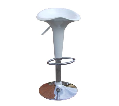 Baltic White Breakfast Bar Stool
