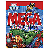 Marvel Super Heroes Mega Colouring Book