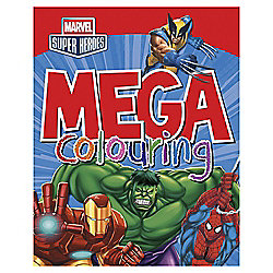 Marvel Bumper Colouring Book