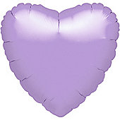 Pastel Lilac Heart Balloon - 18' Foil (each)