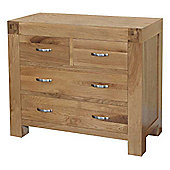 Ametis Santana Blonde Oak Drawer Chest