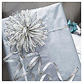 Tesco Ribbon And Bow Pack Silver