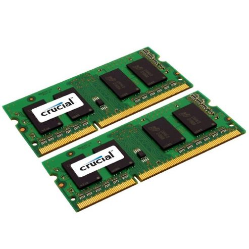 Crucial 8GB Memory Kit (2x4GB) PC3-10600 1333MHz DDR3 Unbuffered for Apple MAC