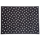 Lorena Canals Dots Brown Rug - 120 cm W x 160 cm D (3 ft 11 in x 5 ft 3 in)