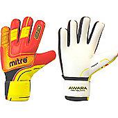 Mitre Awara Pro Negative Goalkeeper Gloves - Red