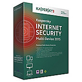 Kaspersky Internet Security, Multi Device, 2 Devices, 1 Year, DVD 2015