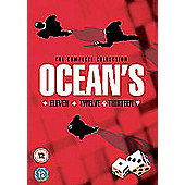 Ocean's Eleven/Ocean's Twelve/Ocean's Thirteen - The Complete Collection (DVD Boxset)