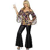 Hippie - Adult Costume Size: 8-10