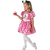 Minnie Mouse Pink Deluxe - Child Costume 5-6 years