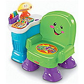 Fisher-Price Laugh & Learn Musical Learning Chair Green