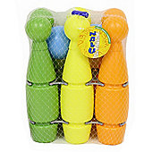 "Nalu 6 Piece Plastic 10"" Skittle Set"