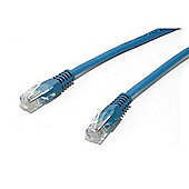 StarTech 20 ft Cat5e Molded 350 MHz UTP Patch Cable Blue