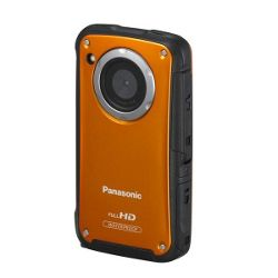 Panasonic TA20 Orange Waterproof Pocket Camcorder