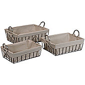 Alterton Furniture 3 Piece Basket Set *