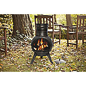 LA HACIENDA BRONZE SQUAT CHIMINEA