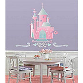 Disney Princess Castle - Personalisable Wall Stickers