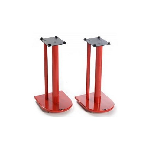 Pair of Speaker Stands in Red - Height 50cm