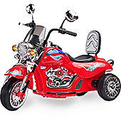 Rebel Electric Kids Battery Operated Ride-on Motorbike - Red