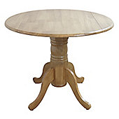 Furniture Link Norway Round Drop Leaf Table