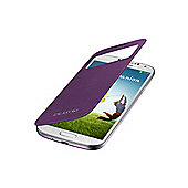Galaxy S4 S-View Cover Sirius Purple