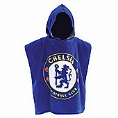 Chelsea Football Club FC Hooded Poncho Towel