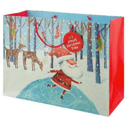Tesco Santa & Co Gift Bag, Extra Large