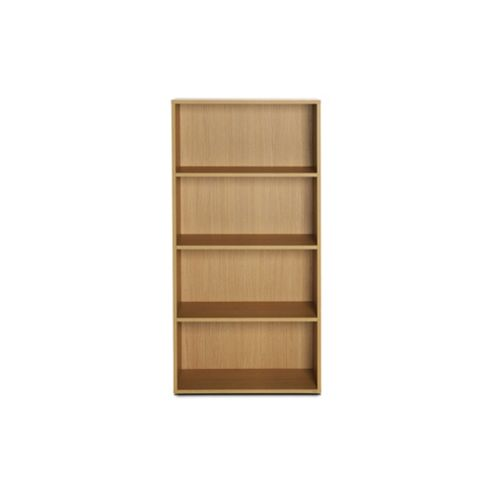 Didit Four Shelves Bookcase - Essential Oak Natural