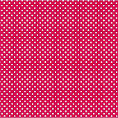 Hot Magenta Dot Beverage Napkins