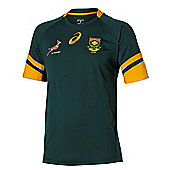 Asics South Africa Springboks Home Jersey 2016/17 - Green