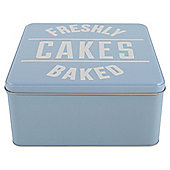 Tesco Retro Freshly Baked Cake Tin