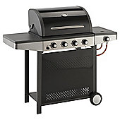 Tesco 4 Burner Gas BBQ + Side Burner