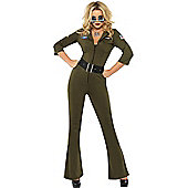 Top Gun Aviator Girl - Medium