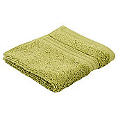 Tesco Hygro 100% Cotton Face Cloth, Fern