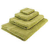 Tesco Hygro 100% Cotton  Towel, - Fern green