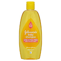 Johnsons Baby   Gold Shampoo    300Ml