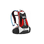 2014 Camelbak 2.0 L Charge Hydration Pack Formula 1 Red/ Charcoal