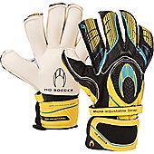 ho Ghotta Roll Finger Junior Goalkeeper Gloves - Black