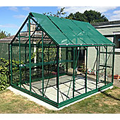 Rhino Premium Greenhouse – 8x10 - Bay Tree Green Finish