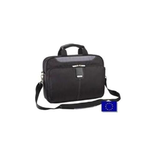 Targus Transit Toploading Case (Black/Grey) for 15 inch to 15.6 inch Laptop/iPad/Tablet