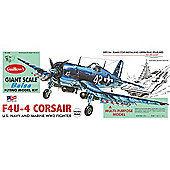 Guillows Vought F4U-4 Corsair 1004 Powered Balsa Aircraft 1:16 Flying Model Kit