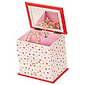 Vanessa Tall Heart Musical Jewellery Box