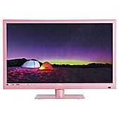 Technika 22E21P-FHD/DVD 22 Inch Full HD 1080p Slim LED TV / DVD Combi With Freeview - Pink