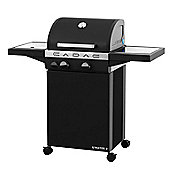 Cadac Stratos 2 Burner Hooded Gas BBQ with Side Burner