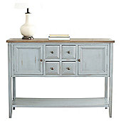 Safavieh Archer Sideboard - Distressed Light Blue Washed